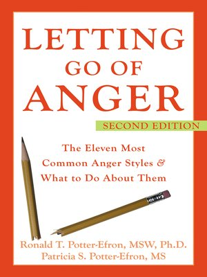 cover image of Letting Go of Anger